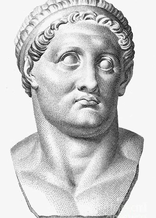 1st Century Greeting Card featuring the photograph Marcus Salvius Otho by Granger