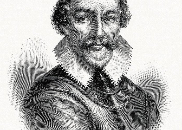 Martin Frobisher Greeting Card featuring the photograph Martin Frobisher, English Explorer by Cci Archives