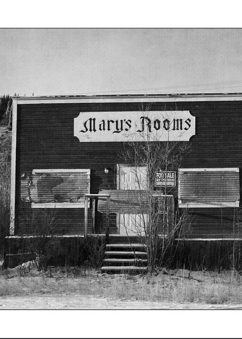Old Greeting Card featuring the photograph Mary's Rooms by Priska Wettstein