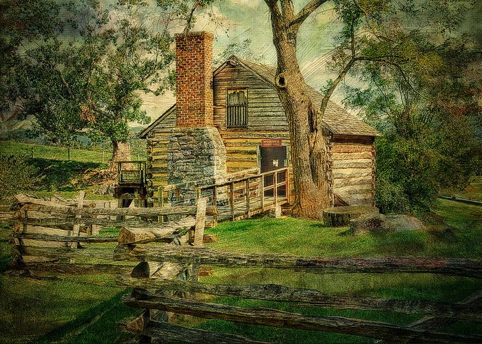 Mccormicks Farm Greeting Card featuring the photograph Mccormick Grist Mill by Kathy Jennings