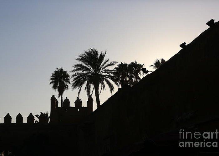 Morocco Greeting Card featuring the photograph Medina I Rabat by Chuck Kuhn