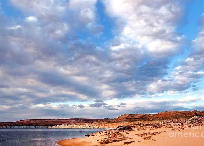 Lake Powell Greeting Card featuring the photograph Meditation by Thomas R Fletcher