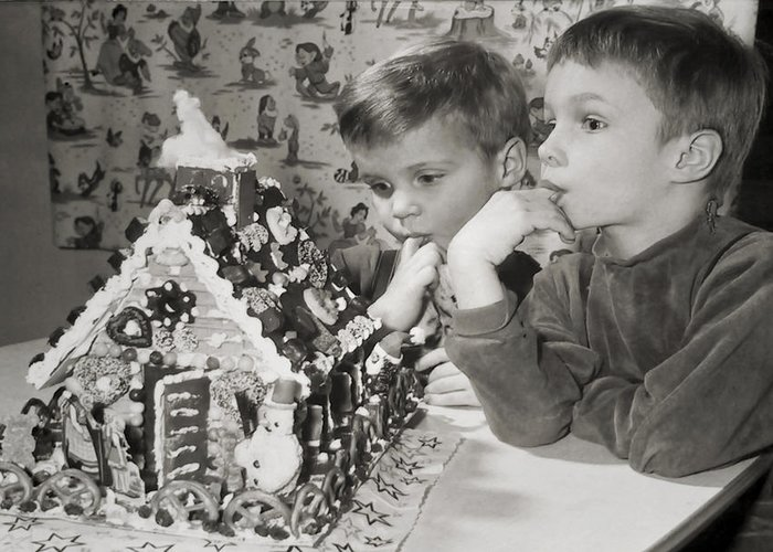 Children Greeting Card featuring the photograph Memories Of A Special Christmas by Christine Till