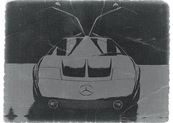 Mercedes Benz C Iii Concept Greeting Card featuring the photograph Mercedes Benz C IIi Concept by Naxart Studio