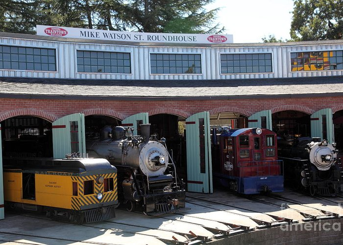 Sonoma Traintown Railroad Greeting Cards