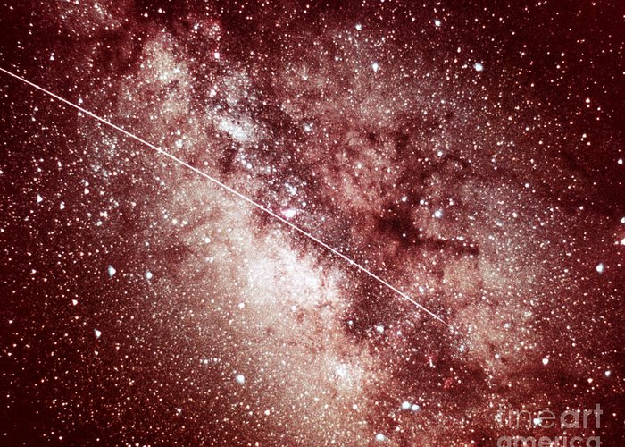 Milky Way Greeting Card featuring the photograph Milky Way In Sagittarius by Science Source
