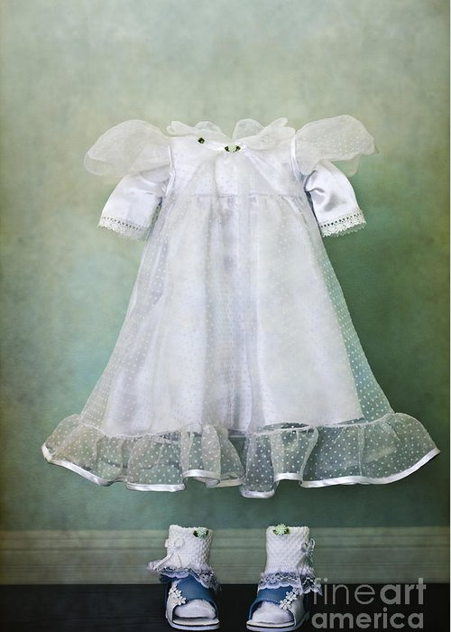 Dress Greeting Card featuring the photograph Missing Child by Margie Hurwich