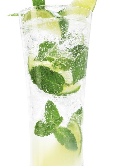 Mojito Greeting Card featuring the photograph Mojito by Federico Arce