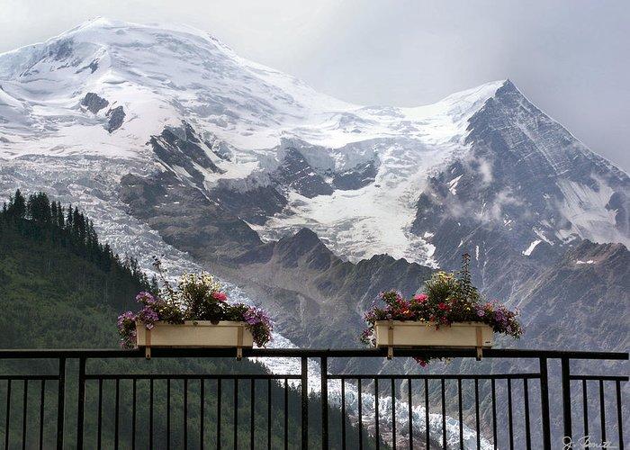 France Greeting Card featuring the photograph Mont Blanc by Joe Bonita