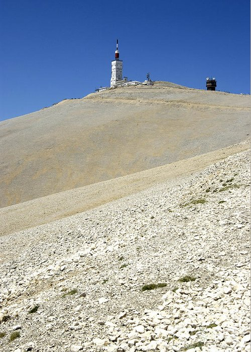 Provence Greeting Card featuring the photograph Mont Ventoux.provence by Bernard Jaubert
