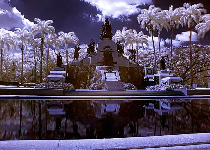 Monument Greeting Card featuring the photograph Monument To The Battle Of Carabobo by Galeria Trompiz