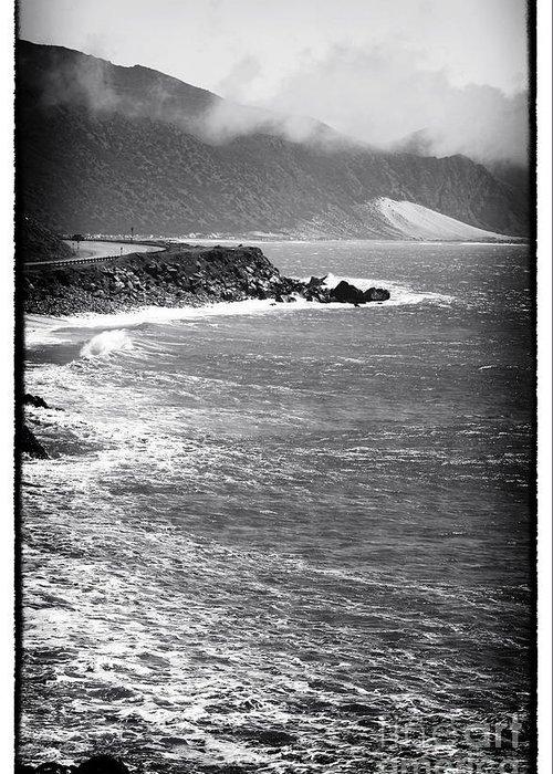 Morning Along The Coast Greeting Card featuring the photograph Morning Along The Coast by John Rizzuto