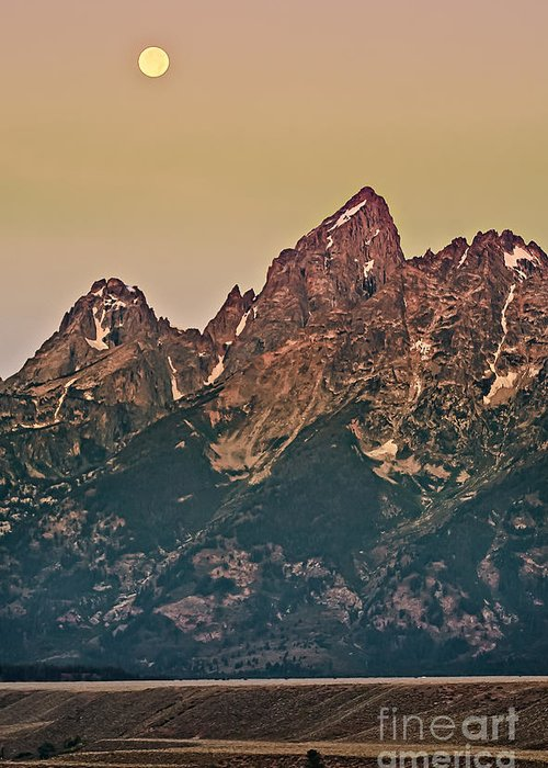 Grand Teton Greeting Card featuring the photograph Morning Light by Robert Bales