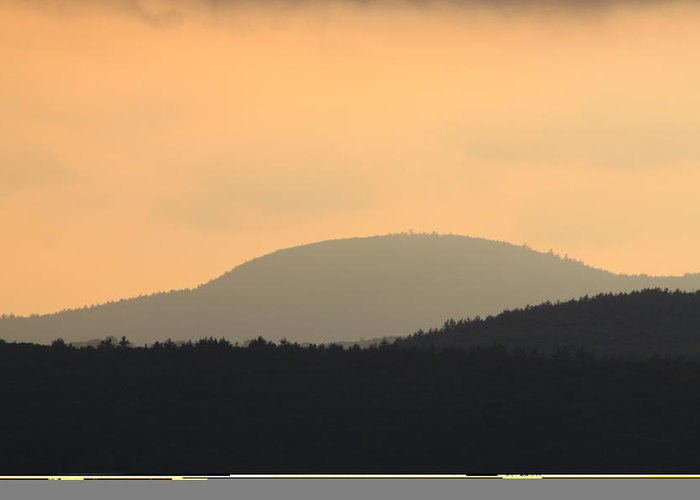 New England National Scenic Trail Greeting Card featuring the photograph Mount Grace Warwick Ma by John Burk