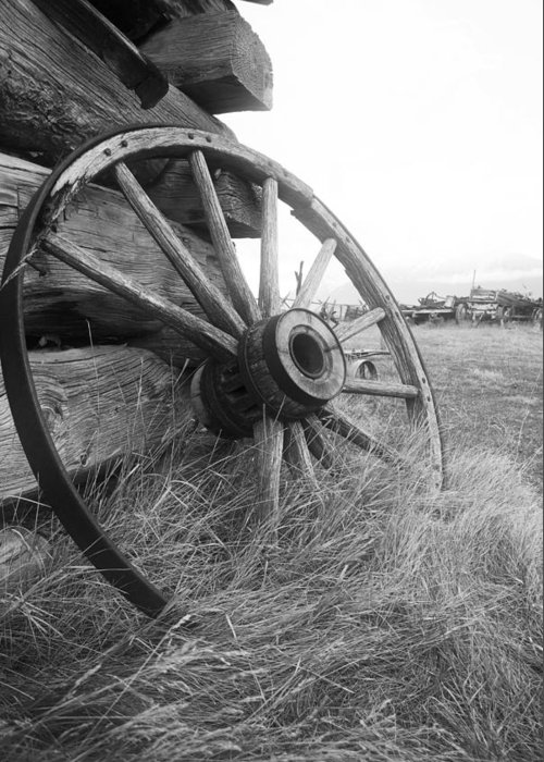 Wheel Greeting Card featuring the photograph Moving Memories by Wayne Stadler