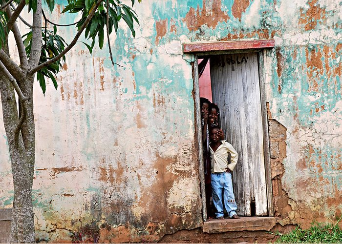 Mozambique Greeting Card featuring the photograph Mozambique - Land Of Hope by Christopher Gaston