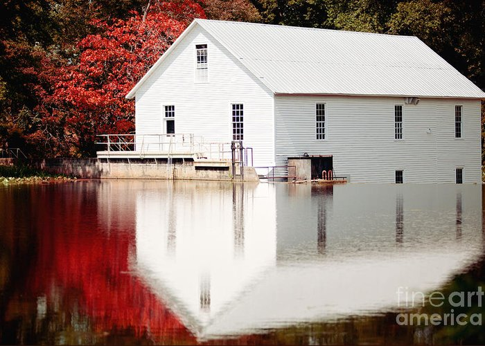 Murrays Mill Greeting Card featuring the photograph Murray's Mill Catawba North Carolina by Kim Fearheiley