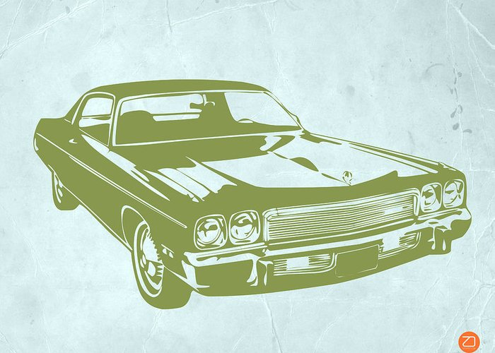 Greeting Card featuring the photograph My Favorite Car 5 by Naxart Studio