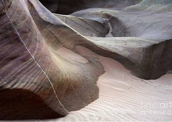 Valley Of Fire Greeting Card featuring the photograph Nature's Artistry In Stone by Bob Christopher