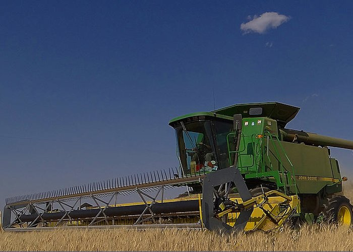 John Deere Greeting Card featuring the photograph Nothing Runs Like A Deere by Blair Wainman