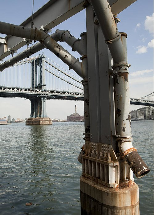 Greeting Card featuring the photograph Ny Composition 4 by Art Ferrier