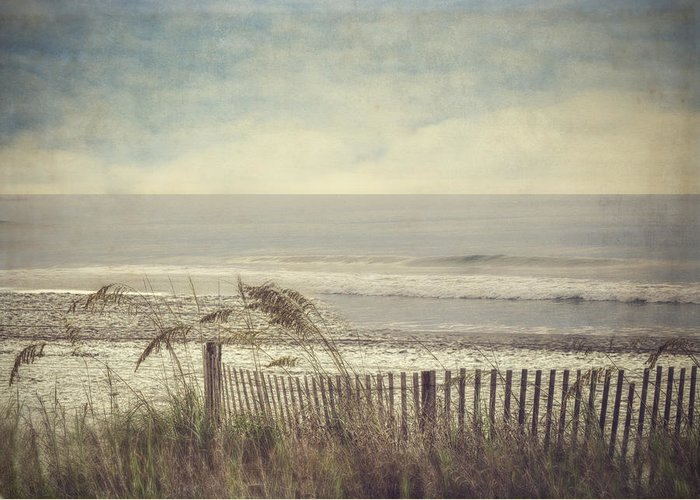 Ocean Greeting Card featuring the photograph Ocean Breeze by Kathy Jennings