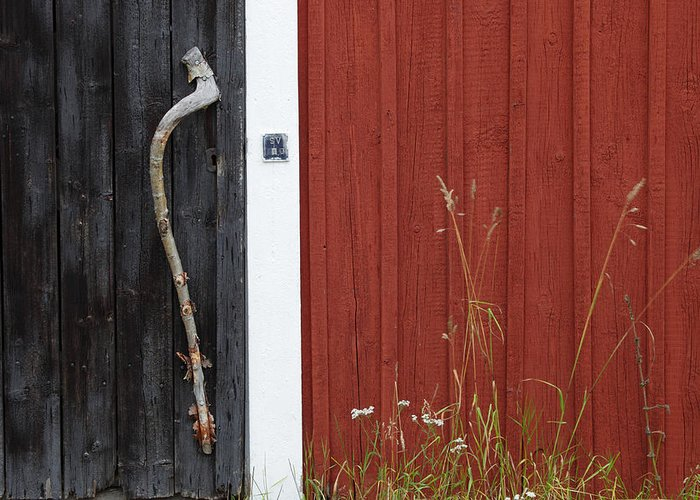 Door Greeting Card featuring the photograph Old Door by Ulrich Kunst And Bettina Scheidulin