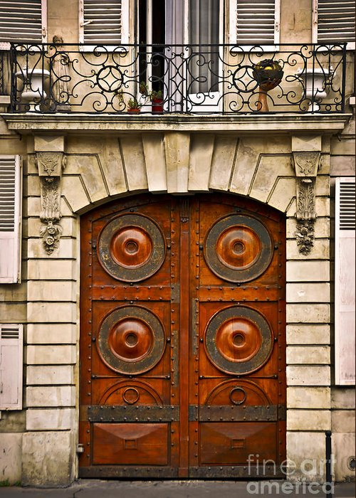 Door Greeting Card featuring the photograph Old Doors by Elena Elisseeva