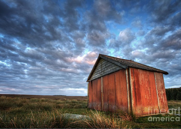 Barn Greeting Card featuring the photograph Old Hay Barn by Martin Williams