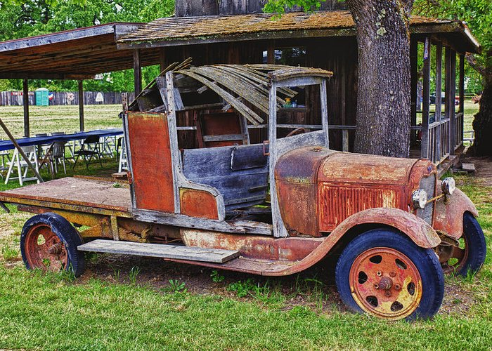 Truck Greeting Card featuring the photograph Old Timer by Garry Gay