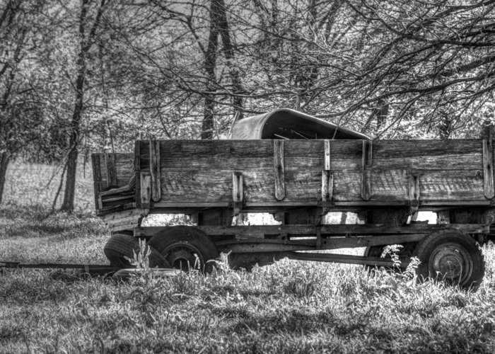 Wagons Greeting Card featuring the photograph Old Wagon by Lisa Moore