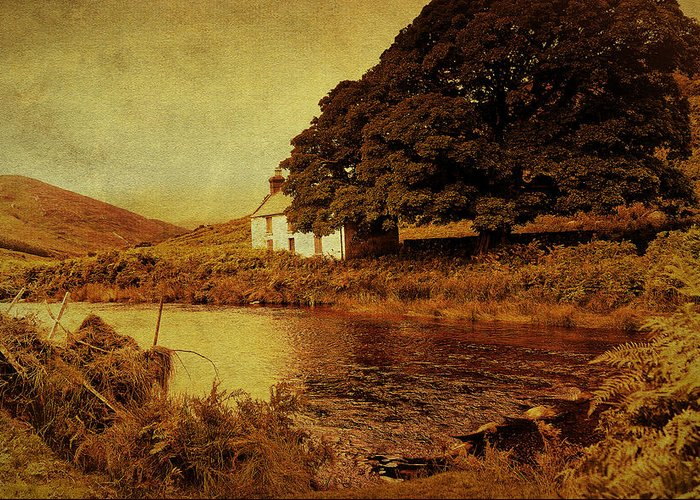 Jenny Rainbow Fine Art Photography Greeting Card featuring the photograph Once Upon A Time. Somewhere In Wicklow Mountains. Ireland by Jenny Rainbow