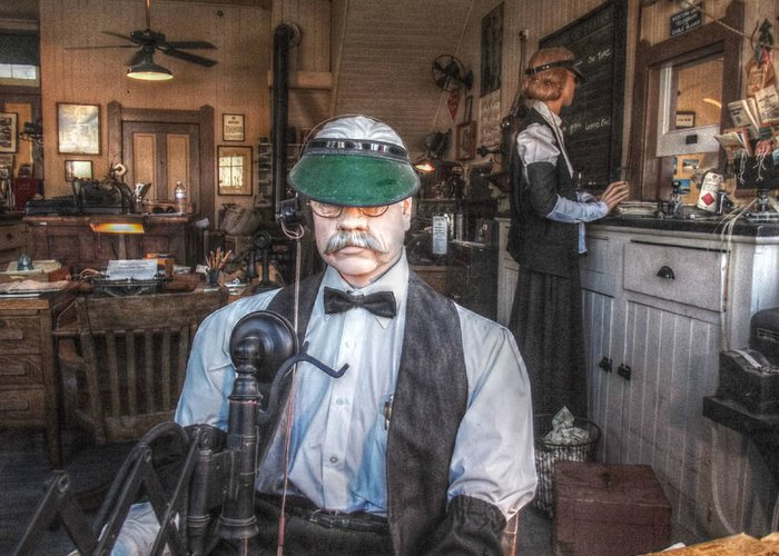 Santa Susana Greeting Card featuring the photograph Only Two Tickets Left by Cindy Nunn