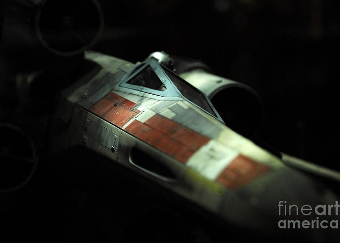 X-wing Greeting Card featuring the photograph Original X-wing by Micah May