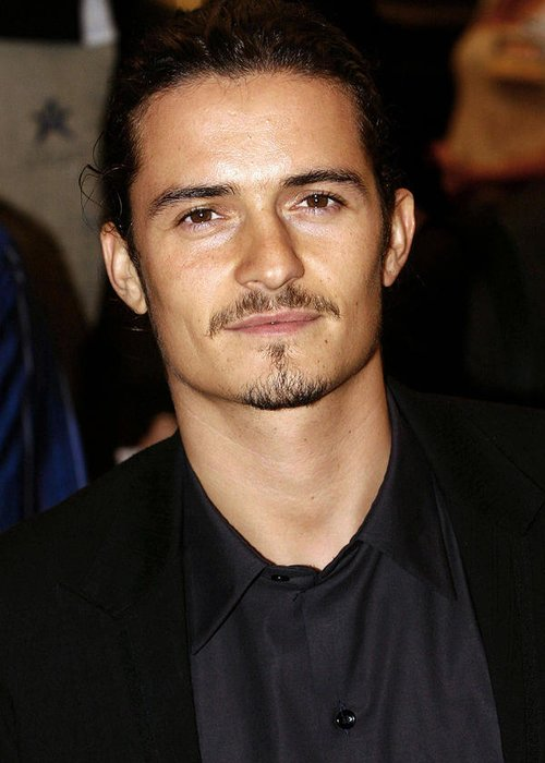 Orlando Bloom Greeting Cards