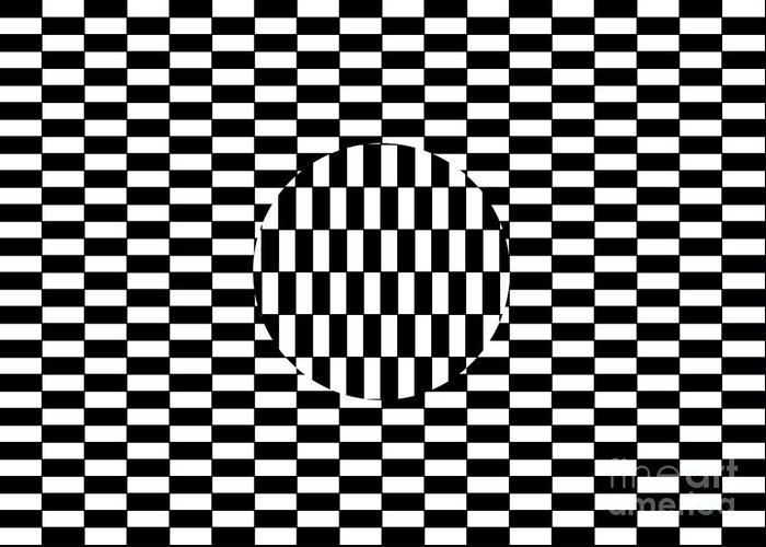 Ouchi Illusion Greeting Cards
