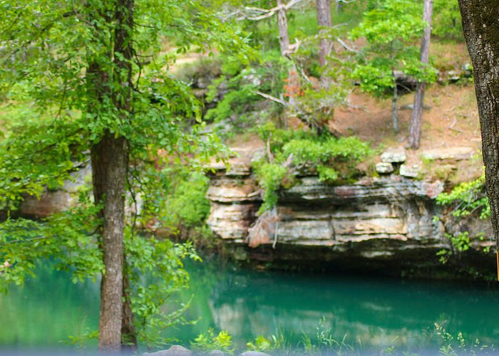 Ozarks Greeting Card featuring the photograph Ozark Heaven by Karen Wagner