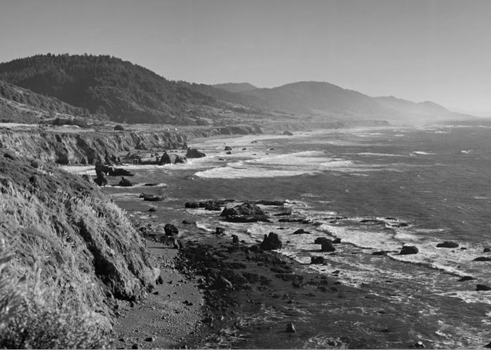 Pch Greeting Card featuring the photograph Pacific Coast Highway Coast by Twenty Two North Photography