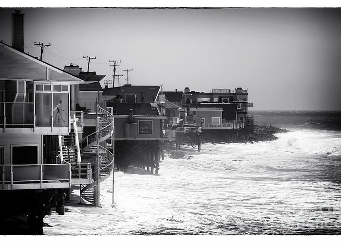 Pacific Coast Living Greeting Card featuring the photograph Pacific Coast Living by John Rizzuto