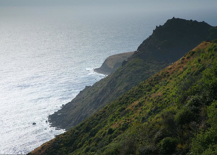 Ocean Greeting Card featuring the photograph Pacific Coast Shoreline Iv by Steven Ainsworth