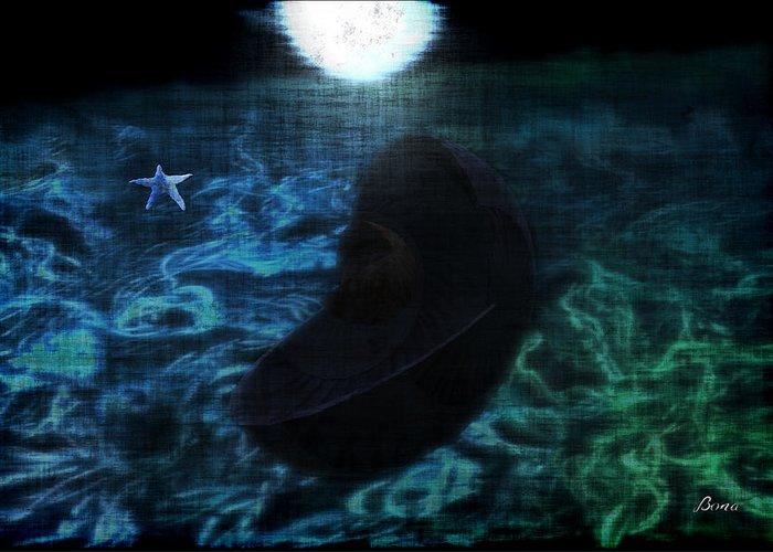 Aquatic Digital Art Greeting Card featuring the digital art Parental Advice Sleep When They Sleep by TaO Bona