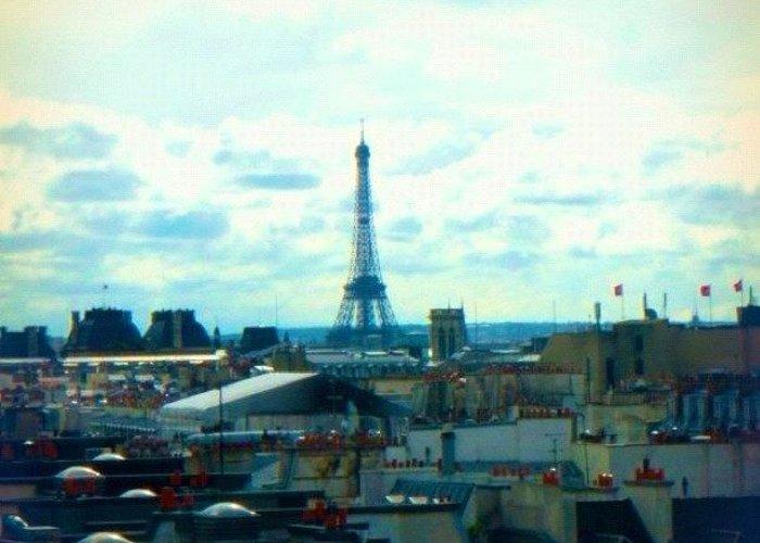 Paris Skyline Greeting Cards