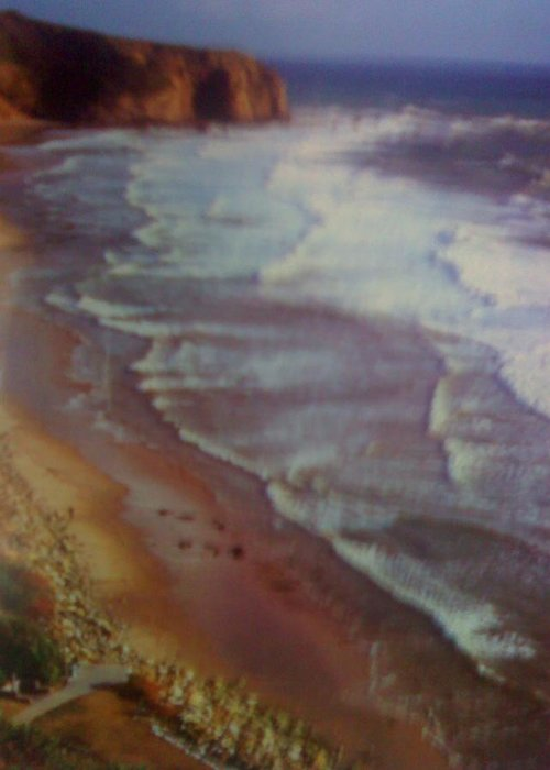 Pastel Beach Greeting Card featuring the photograph Pastel Beach by Douglass Reynolds
