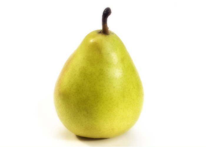 Pear Greeting Card featuring the photograph Pear by Federico Arce