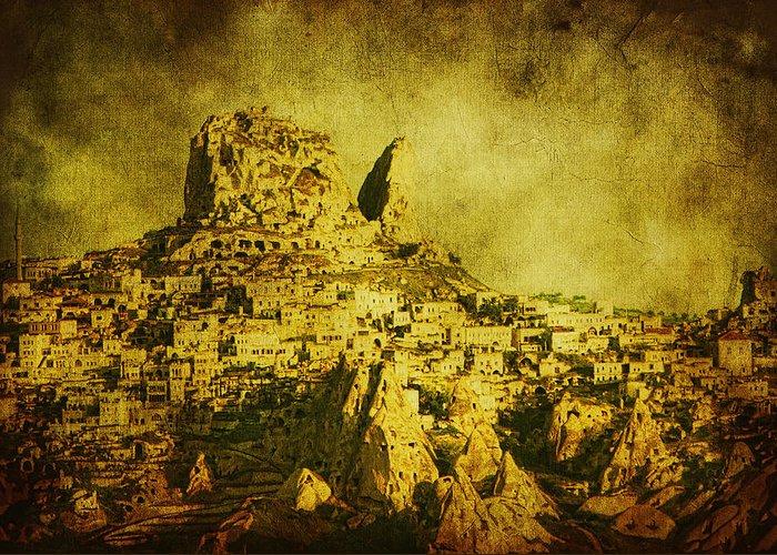 Cappadocia Greeting Card featuring the photograph Persian Empire by Andrew Paranavitana