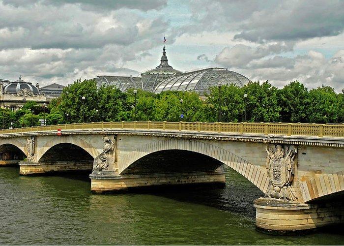 Petit Palace Greeting Card featuring the photograph Petit Palace Paris France by Dave Mills