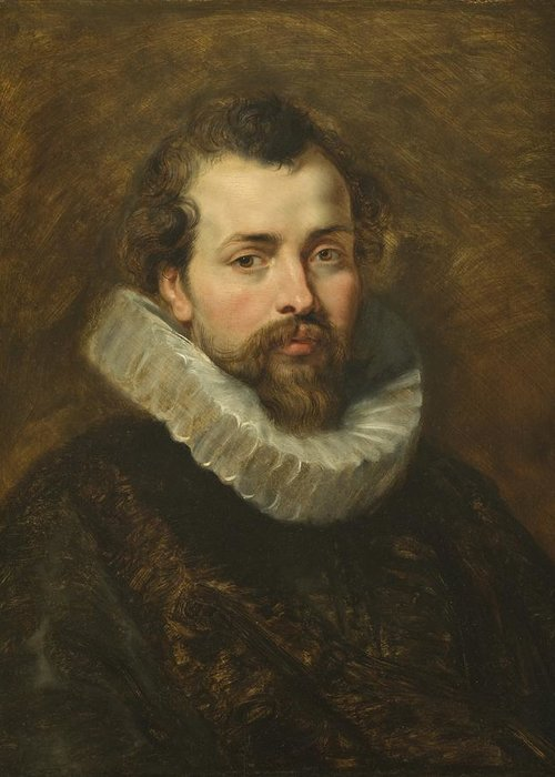 Philippe Greeting Card featuring the painting Philippe Rubens - The Artist's Brother by Peter Paul Rubens