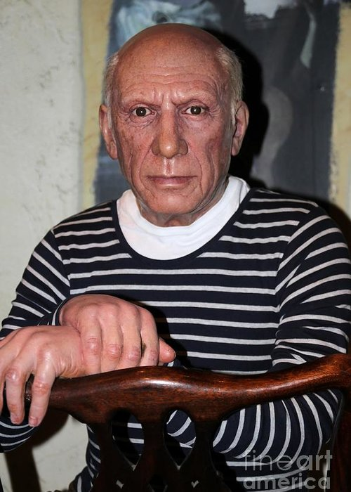 Picasso Greeting Card featuring the photograph Picasso by Sophie Vigneault