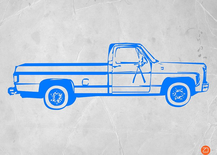 American Trucks Greeting Cards