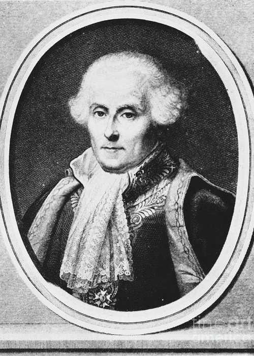 Science Greeting Card featuring the photograph Pierre-simon Laplace, French Polymath by Omikron
